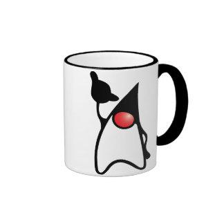 Duke with Shaka sign Ringer Coffee Mug