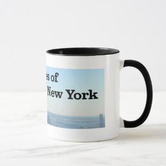 Dukes of New York skyline mug