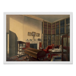 Duke's Own Room, Apsley House, by T. Boys (colour Poster