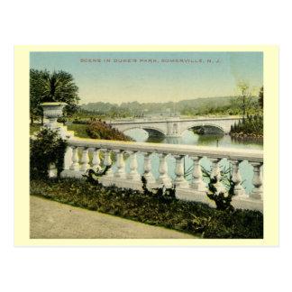 Duke's Park, Somerville, New Jersey 1912 Vintage Post Card