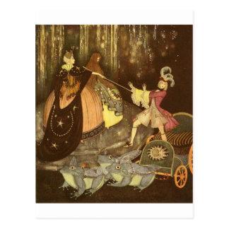 Dulac's Fairy Tales Postcard