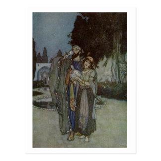 Dulac's Rubaiyat Postcard
