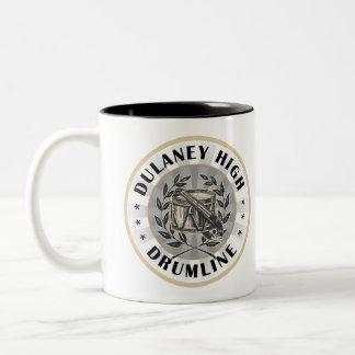 Dulaney High Drumline Two-Tone Coffee Mug
