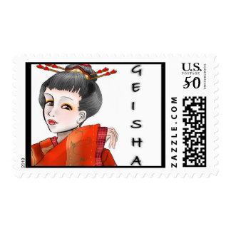 Dulavente Arts Geisha Postage