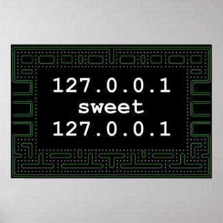 dulce 127.0.0.1 de 127.0.0.1 póster