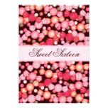 Dulce 16 colección de dieciséis caramelos en rosa anuncios