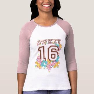 Dulce 16 deporte de equipo de la colección de diec camisetas