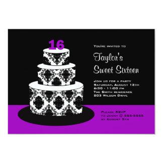 Dulce 16 invitaciones de la fiesta de cumpleaños invitacion personalizada