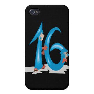 Dulce 16 iPhone 4/4S fundas