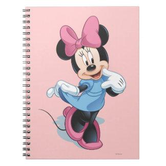 Dulce azul de Minnie el | Libro De Apuntes