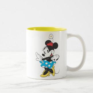 Dulce clásico de Minnie el | Taza De Dos Tonos