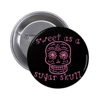 Dulce como cráneo del azúcar pin