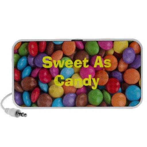 Dulce como Doodle del caramelo PC Altavoces