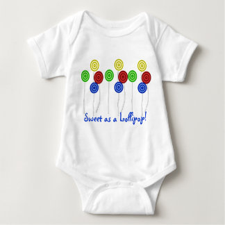 ¡Dulce como Lollipop! Body Para Bebé