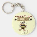 Dulce de la abeja como las camisetas y regalos de  llavero personalizado