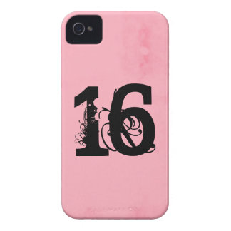 Dulce dieciséis funda para iPhone 4 de Case-Mate