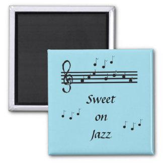 Dulce en jazz - imán