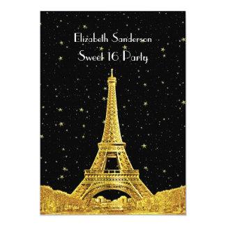 """Dulce estrellado 16 V del horizonte #2 Bk de París Invitación 5"""" X 7"""""""