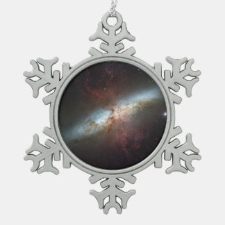 ¡Dulce feliz dieciséis, telescopio de Hubble! - Adorno De Peltre En Forma De Copo De Nieve