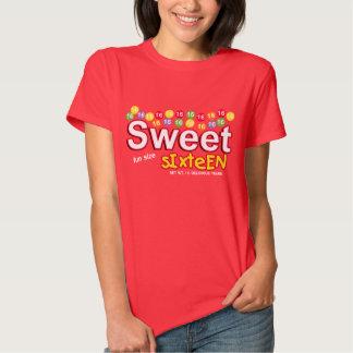 DULCE inspirado CARAMELO camiseta de DIECISÉIS Polera