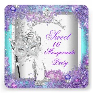 Dulce púrpura dieciséis del trullo fiesta de 16 ma