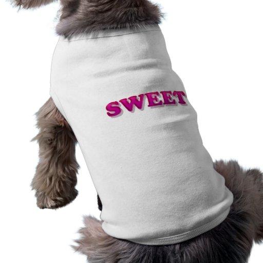 dulce ropa de perro