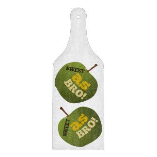 DULCE verde de la manzana COMO BRO Tabla De Cortar
