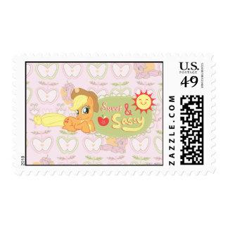 Dulce y descarado sellos postales
