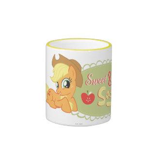 Dulce y descarado taza