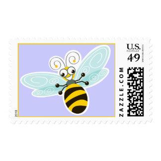 Dulce y diversión del _de la abeja de estampilla