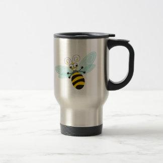 Dulce y diversión del _de la abeja de taza térmica