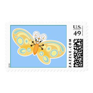 Dulce y diversión del _de Wing-Nutz™_Butterfly Estampilla