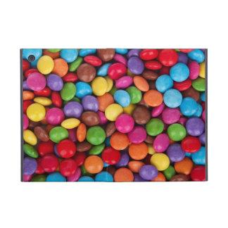 Dulces coloridos del caramelo del arco iris iPad mini cárcasa