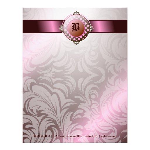 dulces del azúcar 311-Brown Plantillas De Membrete