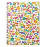 Dulces del caramelo cuadernos