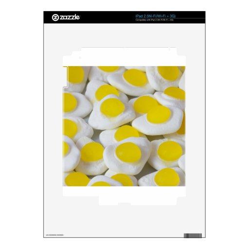 Dulces del huevo frito calcomanía para el iPad 2