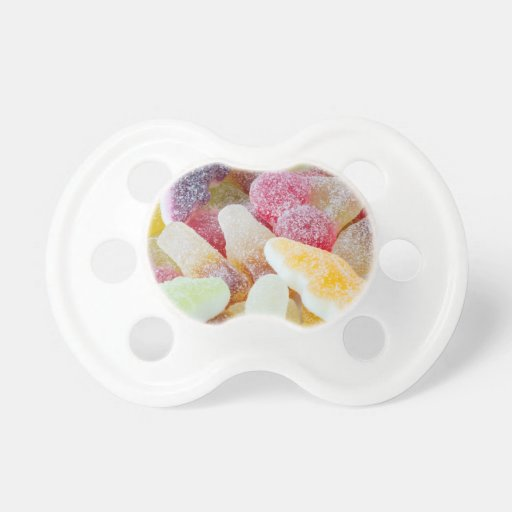 dulces efervescentes chupete de bebé