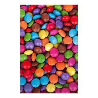 Dulces multicolores de los sabelotodos  papeleria
