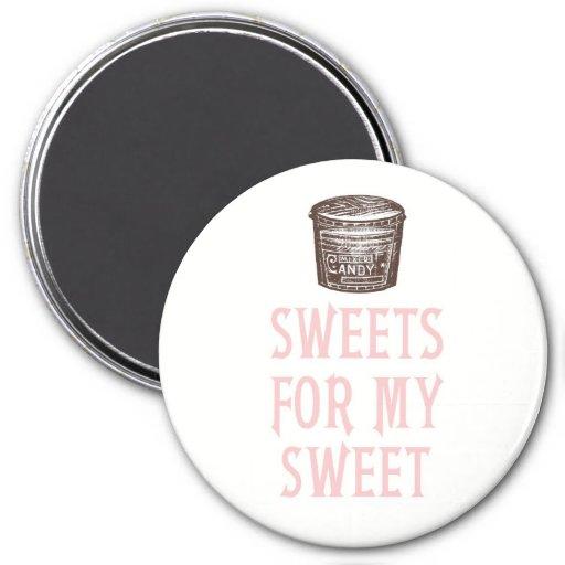 Dulces para mi imán dulce del el día de San Valent