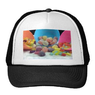 Dulces y caramelo gorras de camionero