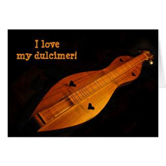 Dulcimer Blank Card