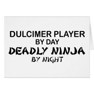 Dulcimer Deadly Ninja by Night Card