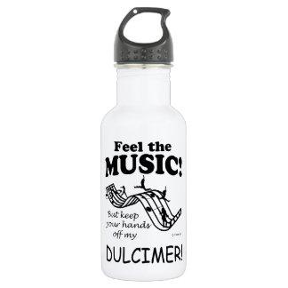 Dulcimer Feel The Music Water Bottle