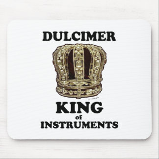 Dulcimer King of Instruments Mouse Pad