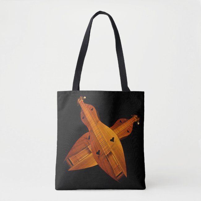 Dulcimer Musical Instruments Tote Bag