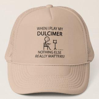 Dulcimer Nothing Else Matters Trucker Hat