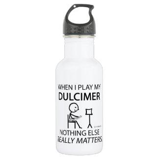 Dulcimer Nothing Else Matters Water Bottle