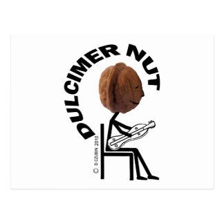 Dulcimer Nut Postcard