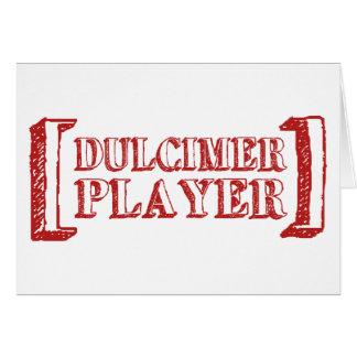 Dulcimer Player Card