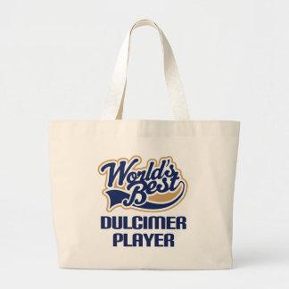 Dulcimer Player Gift (Worlds Best) Large Tote Bag